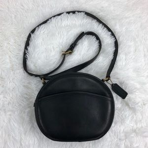 Coach Vintage 90's Black Leather Chester 9901